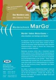 Marderschreck MarGo® - Söffker Elektronik Barsinghausen GmbH