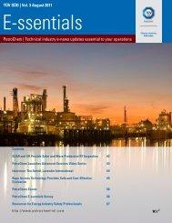 Vol. 3 August 2011 PetroChem - PetroChem Inspection Services