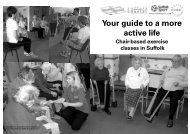 chair based exercises 2011 - Babergh District Council