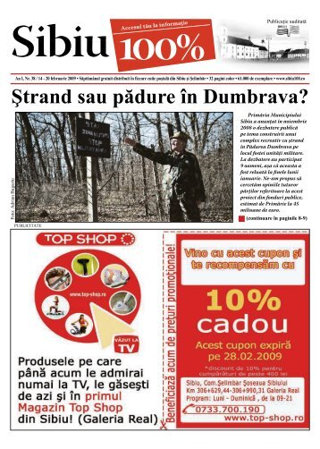 Ştrand sau pădure în Dumbrava? - Sibiu 100