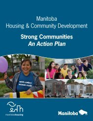 Strong Communities - An Action Plan - Government of Manitoba