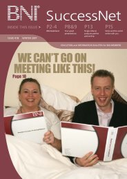 Download It - BNI Europe