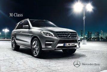 the new M-Class - Mercedes-Benz UK