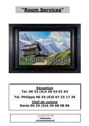 Les services_en mai 2008 - Les Chalets de Philippe