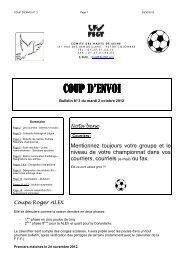 CPE N° 3 - 2012-2013 - FSGT 92
