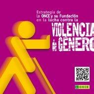 Estrategia de la ONCE y su Fundacion en la lucha contra la Violencia de Genero