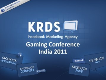 Gaming Conference India 2011