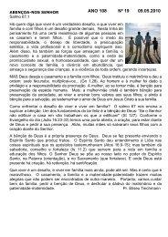 ANO 108 Nº 19 09.05.2010 - Comunidade Evangélica Luterana ...