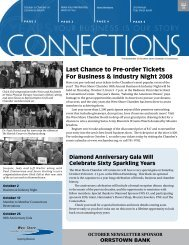 Last Chance to Pre-order Tickets For Business & Industry Night 2008