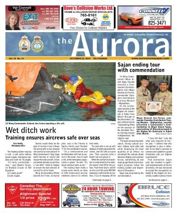 Oct 22 2012 - The Aurora Newspaper