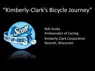 Rob Gusky, Kimberly-Clark