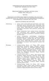 PER- 58/BC/2012 - Direktorat Jenderal Bea dan Cukai