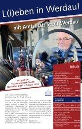 mit Amtsblatt Stadt Werdau