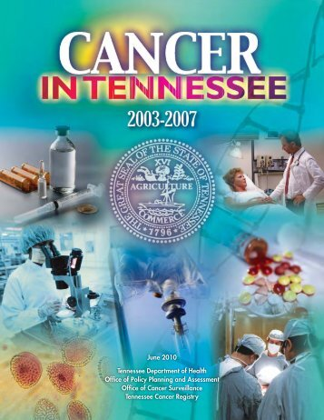8364 CancerTnBook10 - the Tennessee Department of Health