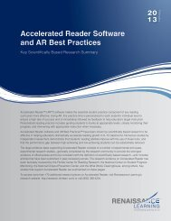 Accelerated Reader Software and AR Best Practices - Renaissance ...
