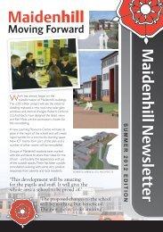 Summer 2012 Newsletter - Maidenhill School