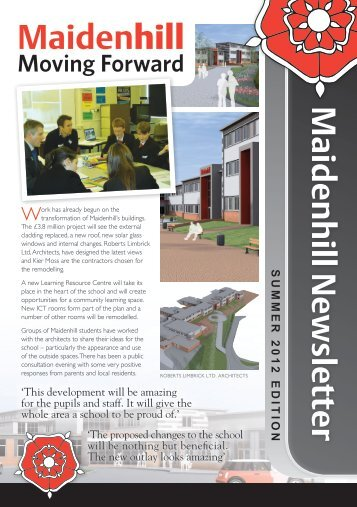 Summer 2012 Newsletter - Maidenhill School
