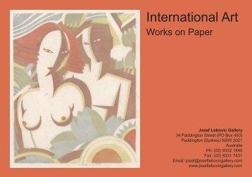 International Art - Josef Lebovic Gallery