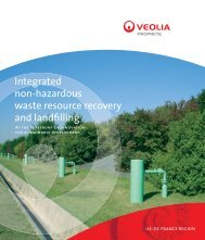 Integrated non-hazardous waste resource recovery and landfilling