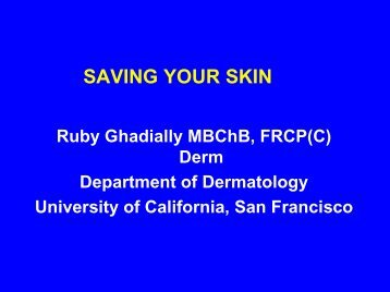 SAVING YOUR SKIN - Dr-baumann-international.co.uk