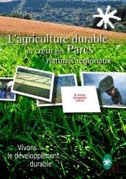 Plaquette Agriculture durable - Fédération des Parcs Naturels ...