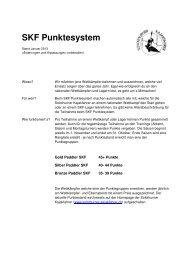 SKF Punktesystem - Solothurner Kajakfahrer
