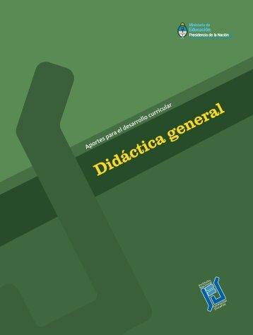 Didáctica general - Repositorio Institucional del Ministerio de ...