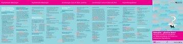 Post Partale Depression – Wichtige Adressen - Frauengesundheit ...
