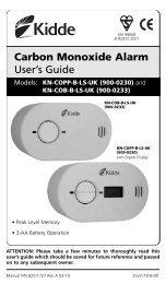 Carbon Monoxide Alarm User's Guide - Safelincs