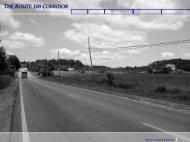 Route_100_Corridor Presentation - Town of Cumberland