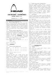 Obchodní podmínky 01012011 - Head
