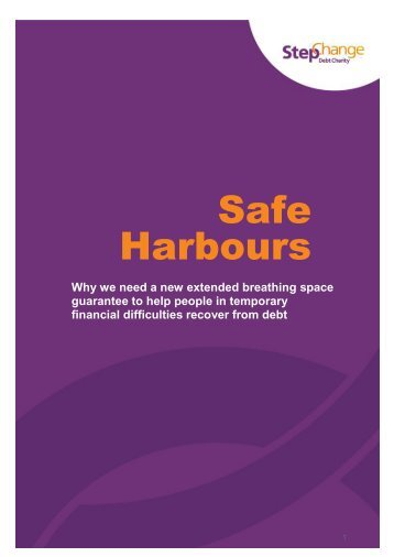 StepChange Safe Harbours