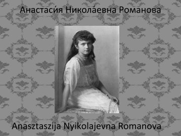 Fikó Judit - Anasztázia hercegnő (PDF)