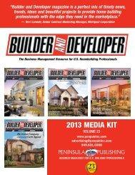 2013 Media Kit - Peninsula Publishing