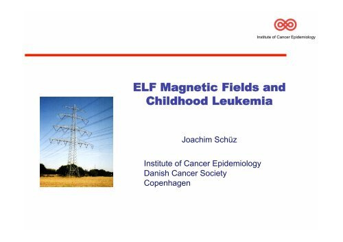 ELF Magnetic Fields and Childhood Leukemia
