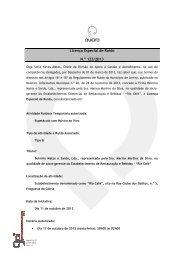 Licença de Ruido 123 - Belmiro Matos e Sardo - Câmara municipal ...