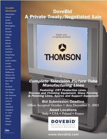 Thomson Virtual Brochure
