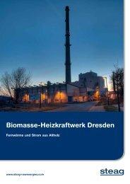 Biomasse-Heizkraftwerk Dresden - STEAG