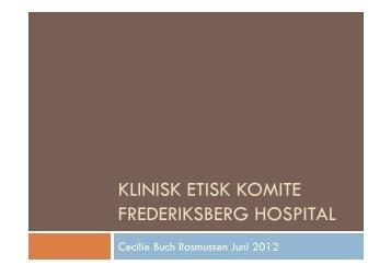 Cecilie Rasmussen, sygeplejerske cand.cur.