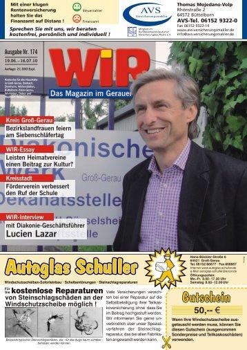 Am 3. und 4. - Das WIR-Magazin im Gerauer Land