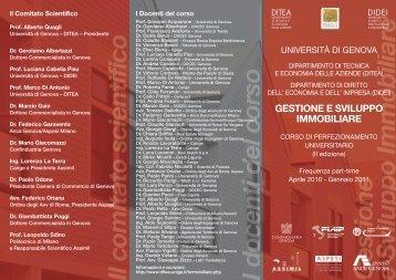 Università di Genova - Aspesi