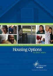 Housing Options for Older Adults - n4a