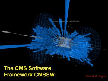 The CMS Software Framework CMSSW - Nuclear Physics Group