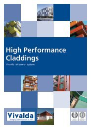 High Performance Claddings - Vivalda