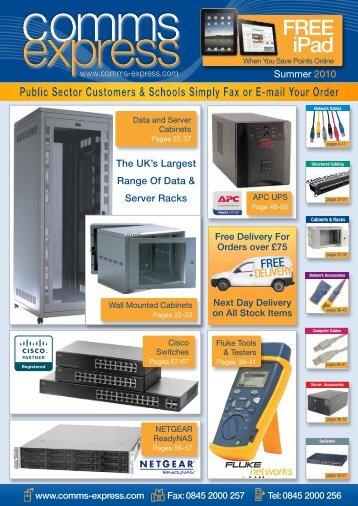 Download Brochure - Comms Express