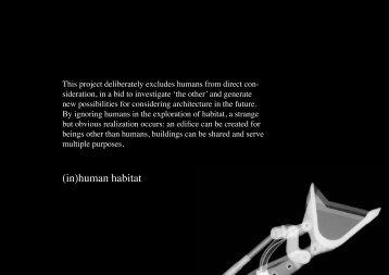 (in)human habitat