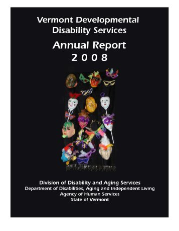 DDS 2008 Annual Report - Division of Disability and Aging Services ...