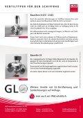 Ventiltechnologie im Schiffbau - GSR Ventiltechnik - Seite 4