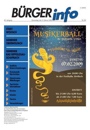 Beteiligung am DSL-Ausbau in Kinzigtal und Kirnbach - Wolfach