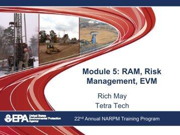 Module 5: RAM, Risk Management, EVM
